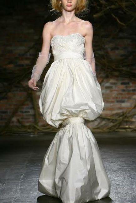 Top ten de los vestidos de novia más feos!! 2