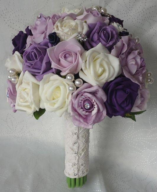Ideas Para Un Ramo Lila Morado Con Rosas Foro Moda