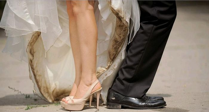 cuánto cuesta enviar el vestido de novia a la tintorería? - foro