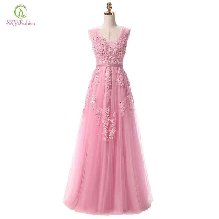 Vestido de damas aliexpress! - 1