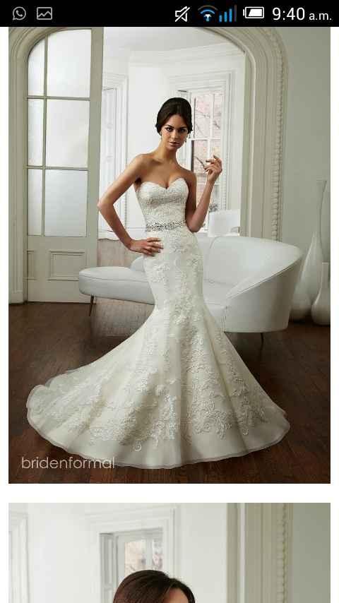 Chicas compartan su vestido de novia - 1