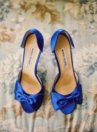 zapatos azul rey para novia - foro moda nupcial - bodas.mx