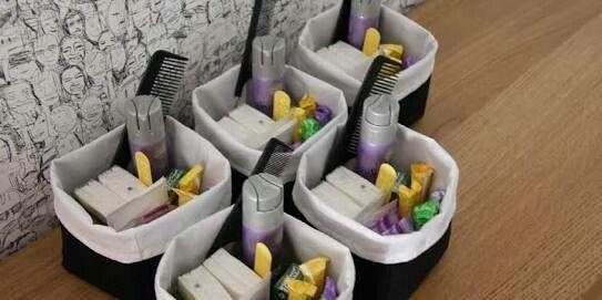 Kit de aseo para el tocador ba o foro manualidades para bodas - Amenities en el bano ...