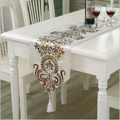 Camino de mesa para la recepci n foro organizar una for Caminos de mesa modernos