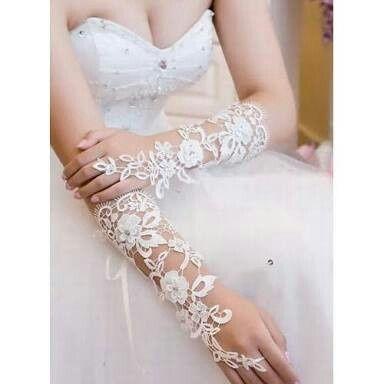 qué tipo de vestido de novia se usa con guantes - foro moda nupcial
