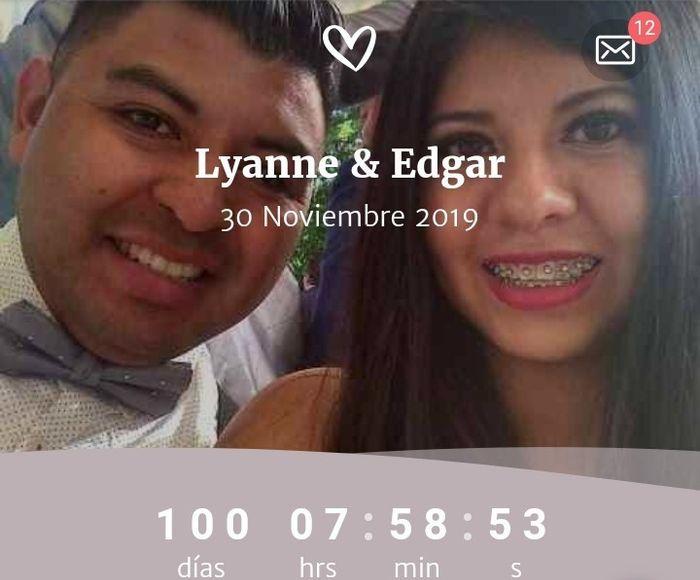 100 días para unir nuestras vidas ❤️👰🤵 1