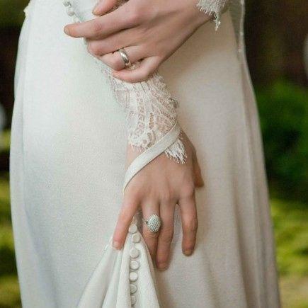 Detalles del Vestido de Novia de Bella Swan en Amanecer (twilight Saga) 3