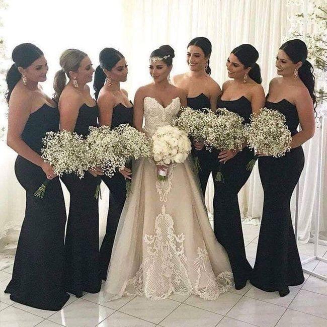 Vestido De Damas De Honor 2019 Foro Moda Nupcial Bodas