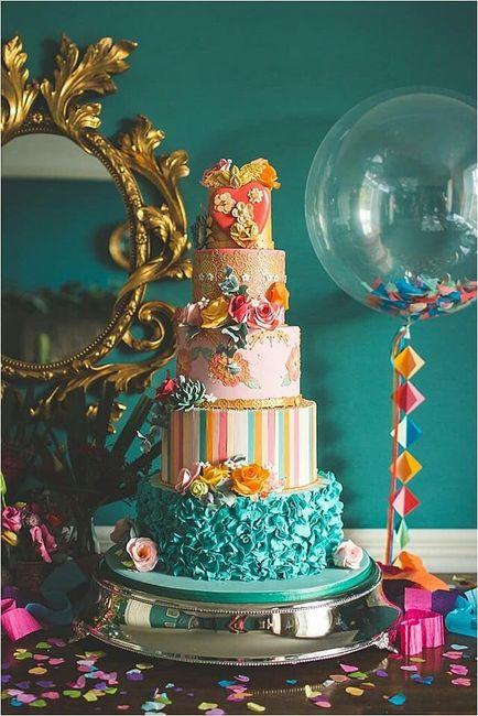 Pasteles para boda temática mexicana 4