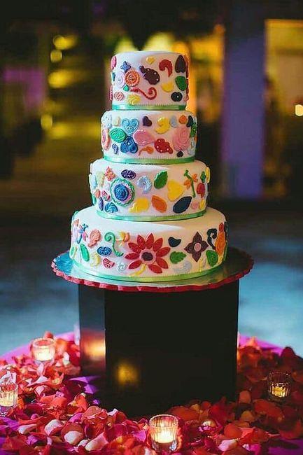 Pasteles para boda temática mexicana 6