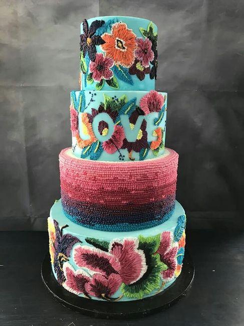 Pasteles para boda temática mexicana 8