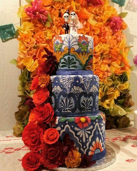 Pasteles para boda temática mexicana 9