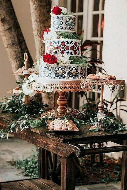 Pasteles para boda temática mexicana 12