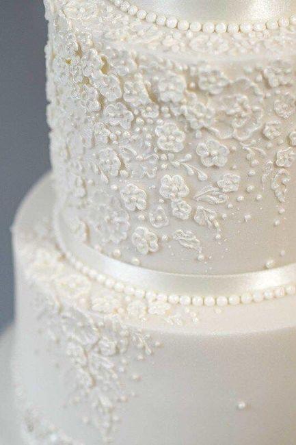 Pasteles de boda blancos 5