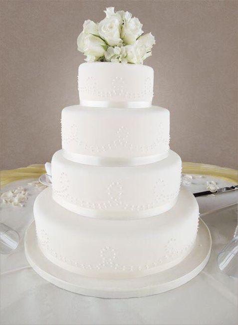 Pasteles de boda blancos 6