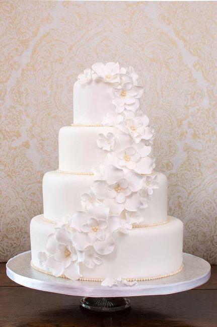 Pasteles de boda blancos 8
