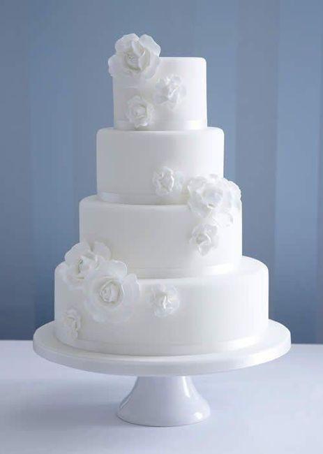 Pasteles de boda blancos 9