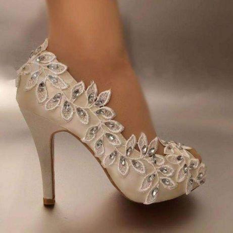zapatillas decoradas con encaje!! 👠👠 - foro moda nupcial - bodas