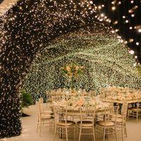 Decorando con iluminación boda - 2