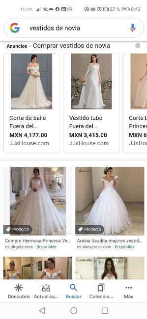 """[JUEGO] Si Googleas """"Vestido de novia""""... 11"""