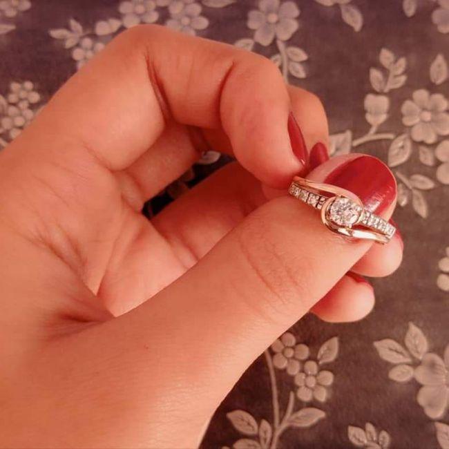 Muéstrame tu anillo de compromiso 😍❤️ 1