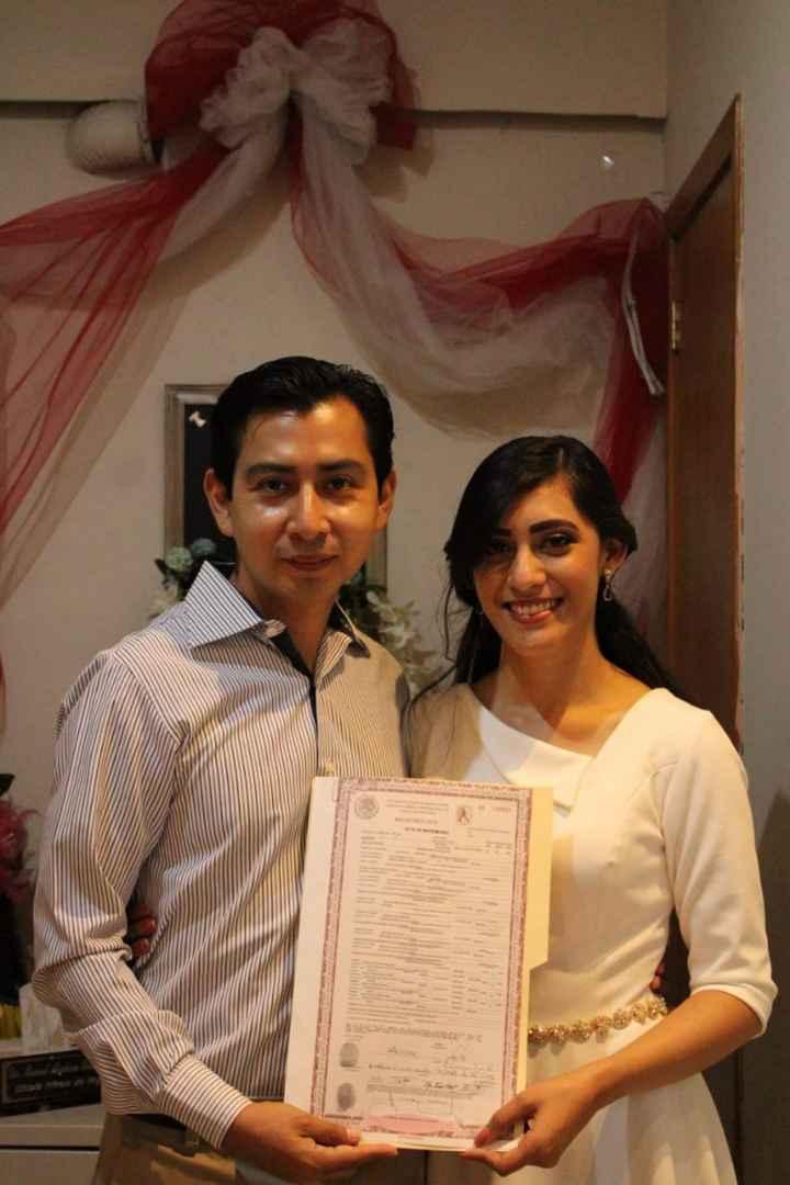 Mi boda civil ❤️ - 3