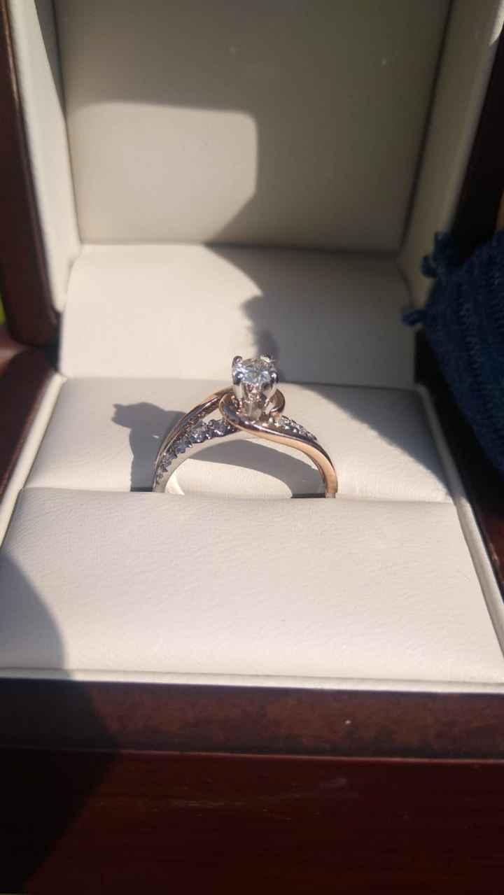 ¿Cuál de estos dos anillos de compromiso gana? - 1