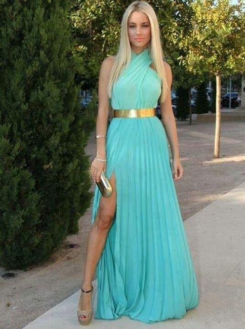 Vestidos En Color Turquesa Y Acqua Foro Moda Nupcial
