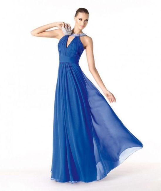e279ae99d Vestidos para las damas en color azul rey - Foro Moda Nupcial ...