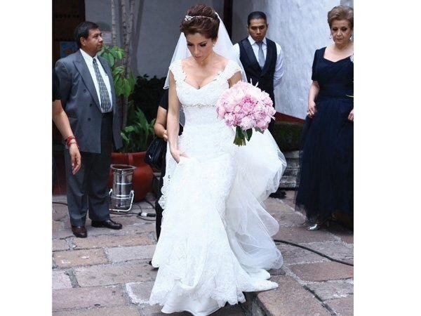 vestidos de novias famosas mexicanas - foro bodas famosas - bodas.mx