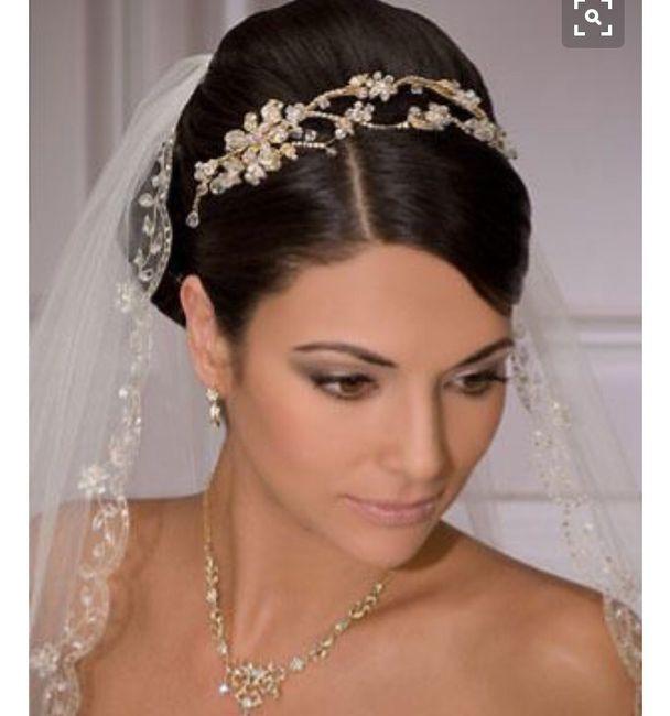peinado para vestido corte princesa - foro moda nupcial - bodas.mx