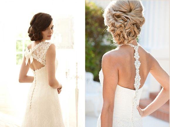 peinado para un vestido de espalda descubierta - foro belleza