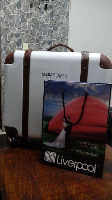 Me encanto la maleta