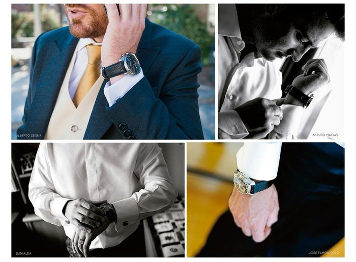 Novio: Sabías de la tradición del reloj de compromiso?? 5