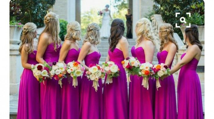 98544d4f6b Vestido damas color bugambilia - Foro Moda Nupcial - bodas.com.mx
