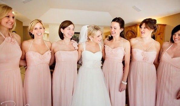 7a9d1eafc5 Damas en color rosa - Foro Moda Nupcial - bodas.com.mx