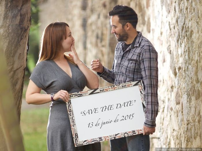 """Sesión """"save the Date"""" 25"""