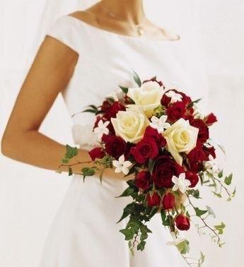 Ramos de novia en tonos rojo❤ 12