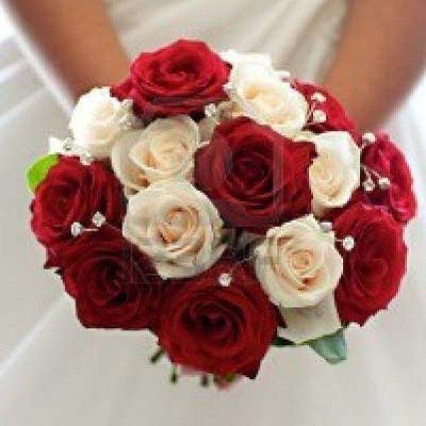Ramos de novia en tonos rojo❤ 37