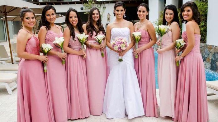 Colores: Damas en Rosa Palo 2