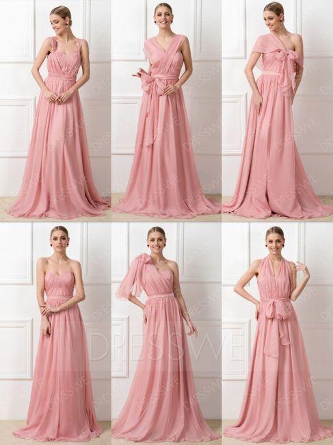 Colores: Damas en Rosa Palo 6