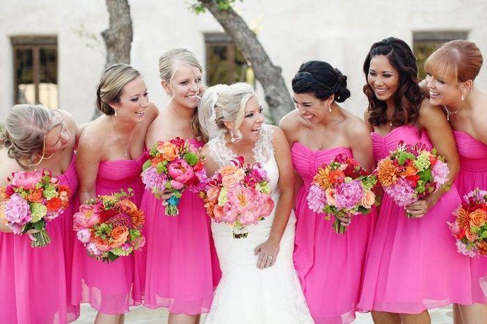 Colores: Damas en Rosa 1