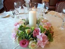 Colores : Centros de mesa en tono Rosa 1