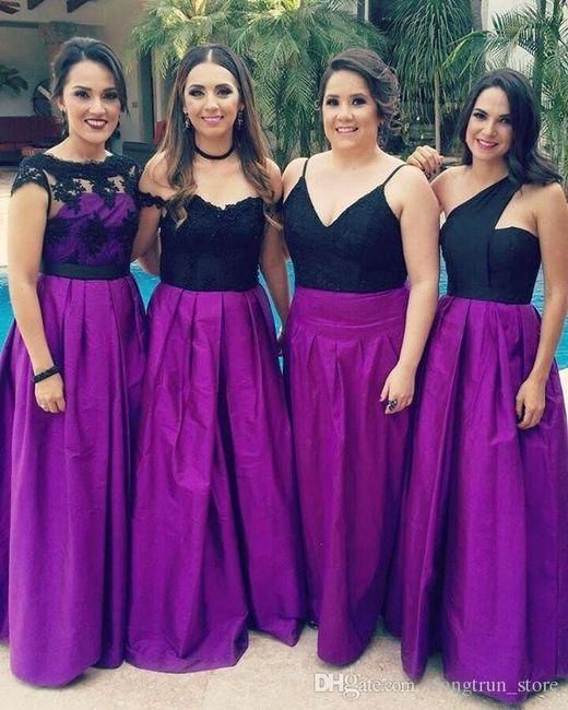 Colores: Damas en Morado 12