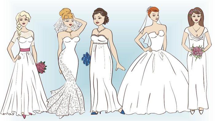 Cómo elegir el vestido correcto 1