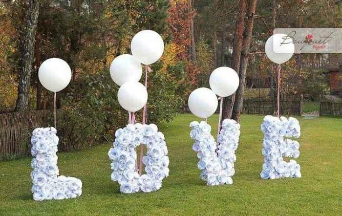 Ideas de decoración de boda en Jardín 1