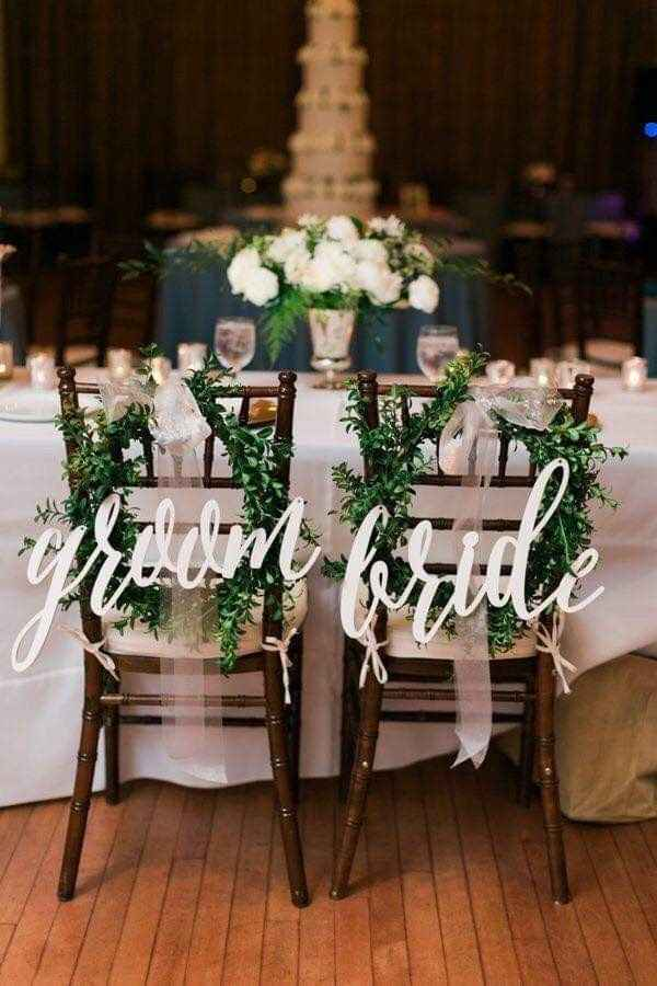 Ideas de decoración de boda en Jardín 5