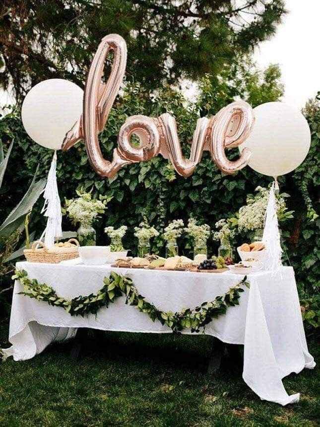 Ideas de decoración de boda en Jardín 6