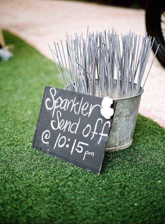 Ideas de decoración de boda en Jardín 7