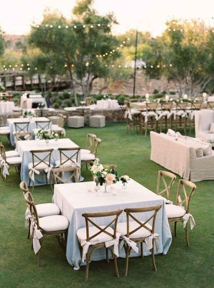 Ideas de decoración de boda en Jardín 8